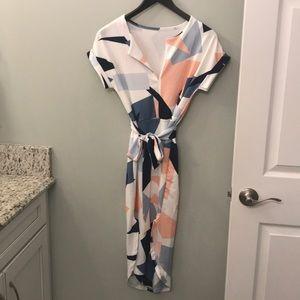 Mosaic print dress/brand new